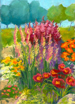 Pastel - Master Gardens by Pat Olson