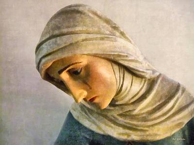 Mother Mary Digital Art - Mater Dolorosa by RC DeWinter