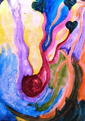 Healing Art Painting - Maternity by Teal Eye  Print Store