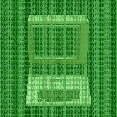 Prime Mixed Media - Matrix Computer by Dan Sproul