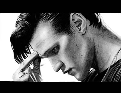 Doctor Who Drawing - Matt Smith - The 11th Doctor by Kayleigh Semeniuk