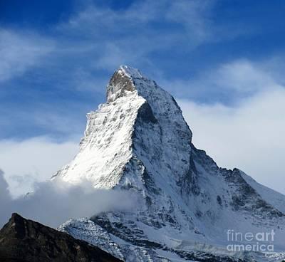 Matterhorn Print by Lynn R Morris