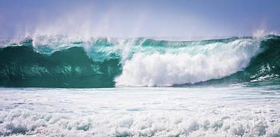Maui Huge Wave Original by Denis Dore
