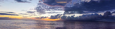Ocean Photograph - Maui Skies by Camille Lopez