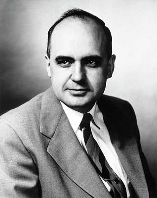 Maurice Photograph - Maurice Hilleman by National Library Of Medicine