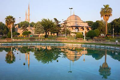 Mausoleum Of Sultan Ahmet I In Istanbul Print by Artur Bogacki