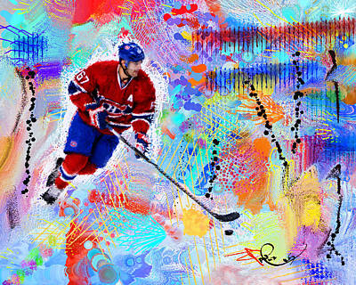 Montreal Canadiens Digital Art - Max Pacioretty  by Donald Pavlica