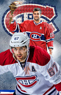 Montreal Canadiens Digital Art - Pacioretty Phone Cover by Nicholas Legault