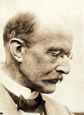 Oblique Photograph - Max Planck by American Philosophical Society