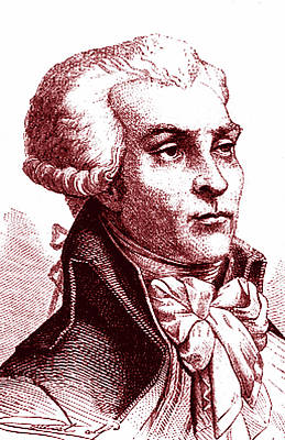 Maximilien Robespierre Print by Collection Abecasis