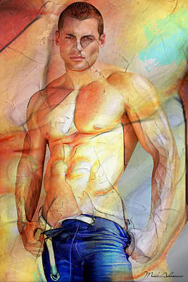 Sensual Digital Art - Maximum Color by Mark Ashkenazi