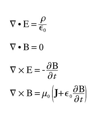 Maxwell's Equations Print by Science Photo Library