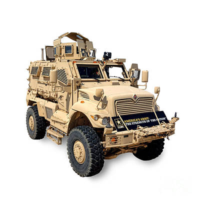 Armored Fighting Vehicles Photograph - Maxxpro by Olivier Le Queinec