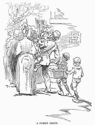 Crying Drawing - May Day Parade, 1889 by Granger