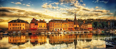 D700 Photograph - May Evening Honfleur by Jack Torcello