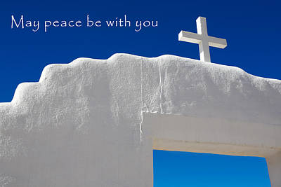 May Peace Be With You Print by Marilyn Hunt