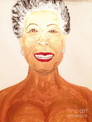 Justice Painting - Maya Angelou  by Ginnie McKnight
