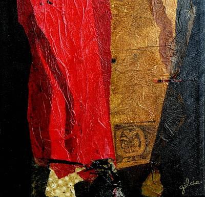 Etc. Mixed Media - Mayan Ah-men by Gilda Pontbriand