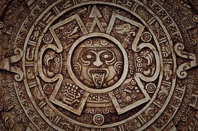 Mayan Calendar Print by Brandon Bourdages
