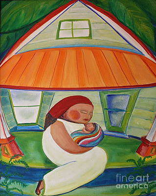 Painting - May's Baby by Teresa Hutto