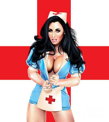 Mc Nurse V2 Print by Brian Gibbs