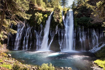 Mcarthur-burney Falls Memorial State Park Print by Chris Frost