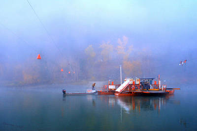 Theresa Leigh Photograph - Mcclure Ferry by Theresa Tahara