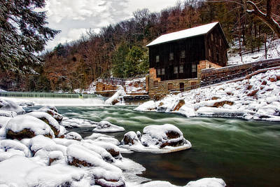 Mcconnell's Mill Print by Marcia Colelli