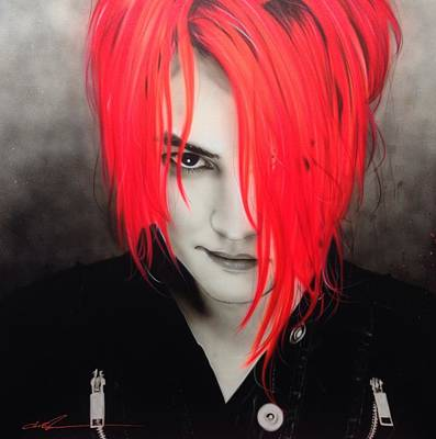 Chemical Painting - My Chemical Romance - ' M. C. R. ' by Christian Chapman Art