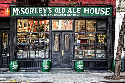 Mcsorley's Old Ale House Print by Craig Gordon