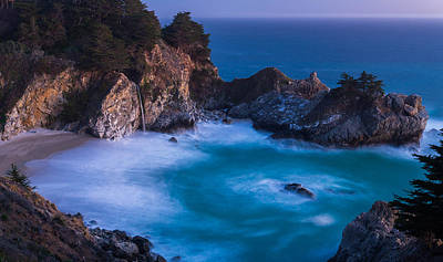 Mcway Falls Sunset Print by About Light  Images