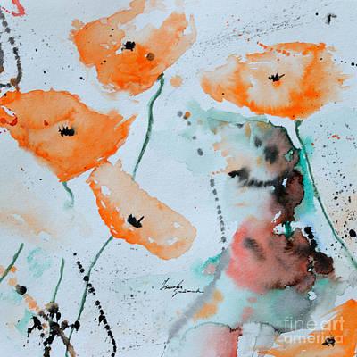 Meadow Children Print by Ismeta Gruenwald