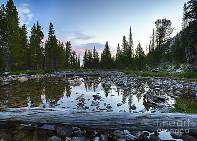 Meadow Creek Print by Idaho Scenic Images Linda Lantzy
