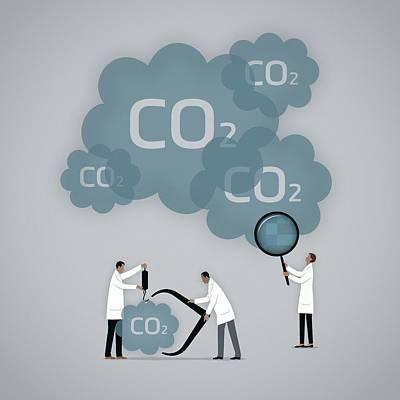 Measuring Carbon Footprint Print by Mark Airs