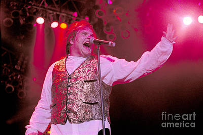 Concert Photograph - Meatloaf-20 by Timothy Bischoff