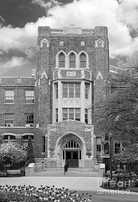 Medaille College Main Building Print by University Icons