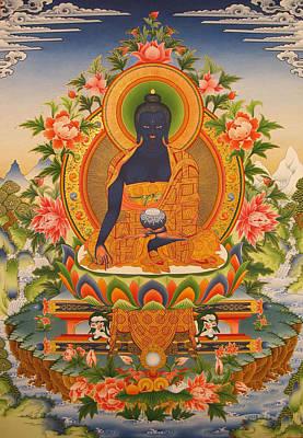 Tibetan Buddhism Painting - Medicine Buddha by Art School