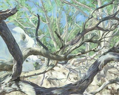 White Rhino Painting - Medicine by Sarah Soward