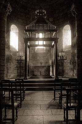 Surreal Photograph - Medieval Altar - Gothic Worship by Gary Heller