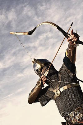 Archer Photograph - Medieval Archer by Holly Martin
