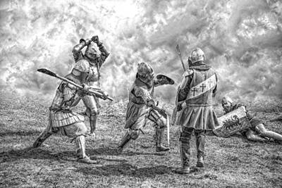 Knight Photograph - Medieval Battle by Jaroslaw Grudzinski