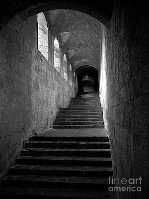 Medieval Passage Print by Mark Miller