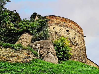 Durnstein Photograph - Medieval Tower by Elvis Vaughn