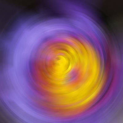 Cold Painting - Meditation - Abstract Energy Art By Sharon Cummings by Sharon Cummings