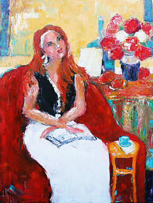 With Pallet Knife Painting - Meditation by Becky Kim