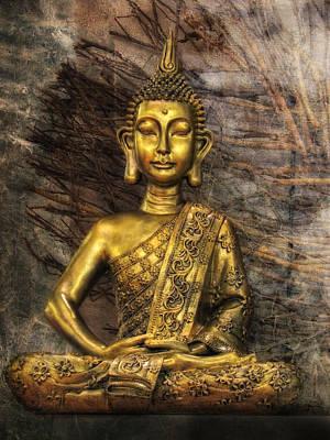 Meditation Print by Joachim G Pinkawa