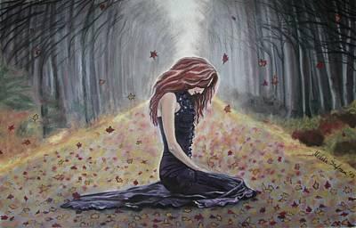 Meditation Print by Melita Safran
