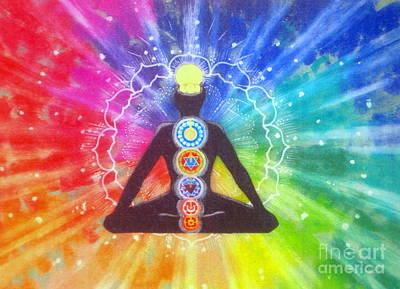 Meditation Print by Shasta Eone