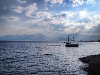 Michael Fitzpatrick Photograph - Mediterranean Boat by Michael Fitzpatrick