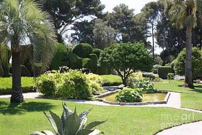 Mediterranean Garden - Cote D Azur Print by Christiane Schulze Art And Photography